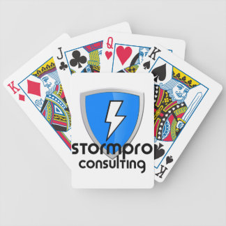 StormPro Merchandise Bicycle Playing Cards