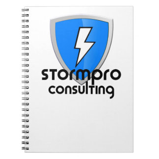 StormPro Merchandise Spiral Notebook
