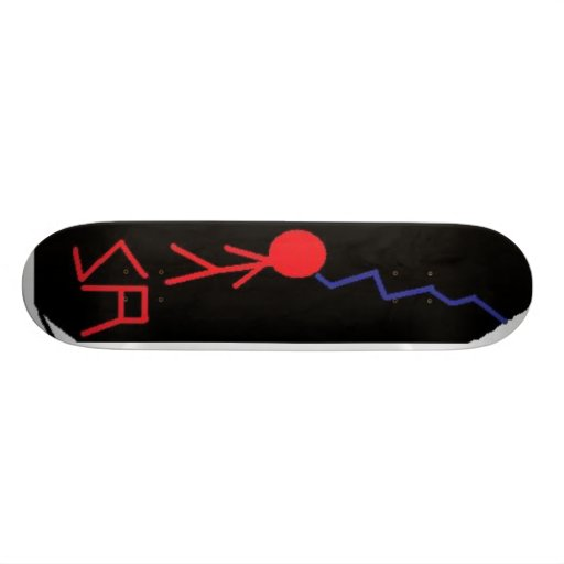 StormRedLightning Skateboard Decks