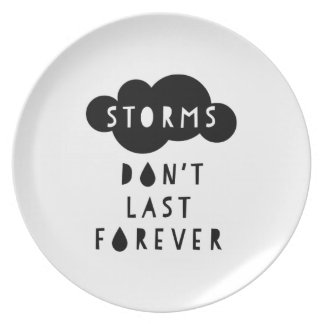 Storms Don't Last Forever Plate Light