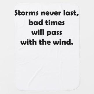 Storms Never Last Baby Blanket