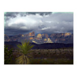 Storms Over Maderas Del Carmen Post Card