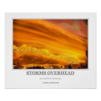 STORMS OVERHEAD POSTER