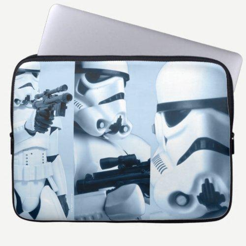 Stormtrooper Photo Collage Laptop Sleeve