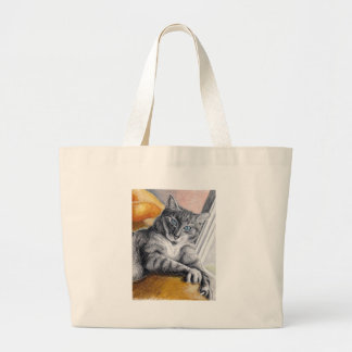 stormy canvas bag