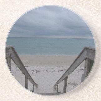 Stormy Beach Coaster