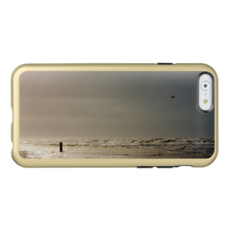 Stormy beach. incipio feather shine iPhone 6 case