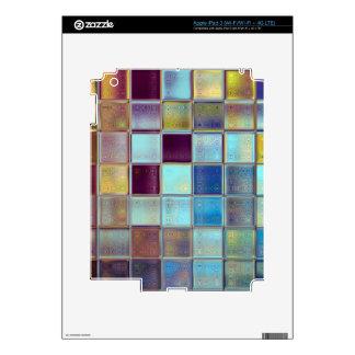 Stormy Breeze Custom Tile Mosaic Art Skin For iPad 3