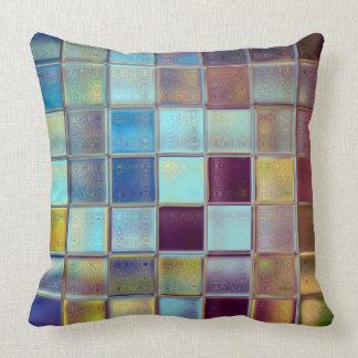 Stormy Breeze Original Mosaic Art Pillow