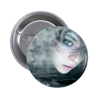STORMY PINBACK BUTTON