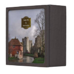 Stormy Castle And River Wedding Ring Box