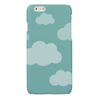Stormy clouds hoesje glossy iPhone 6 case