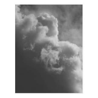 Stormy Clouds Postcard