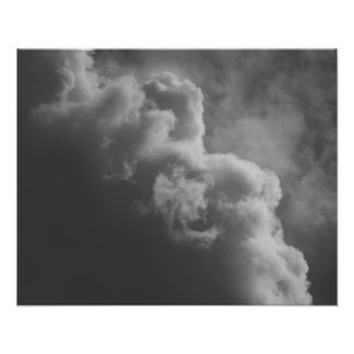 Stormy Clouds Poster