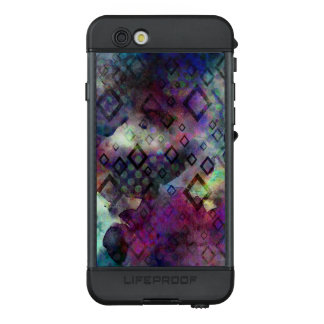 Stormy colorful watercolor abstract w/ diamonds LifeProof NÜÜD iPhone 6s case