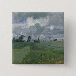 Stormy Day, 1897 Pinback Button