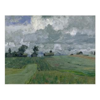 Stormy Day, 1897 Postcard