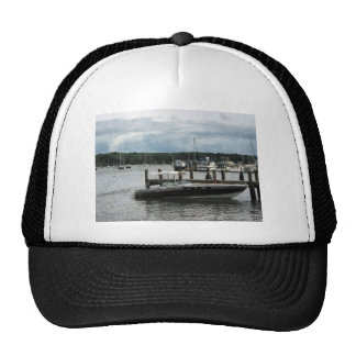 Stormy Day at the Harbor Essex CT Trucker Hat