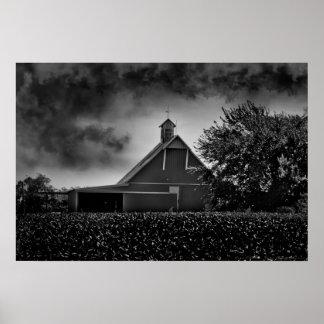 """Stormy Days"" Country Barn Photo Art - Bryan Smoak Print"