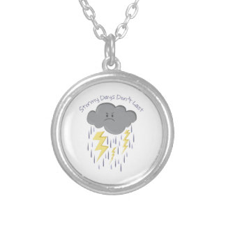 Stormy Days Personalized Necklace