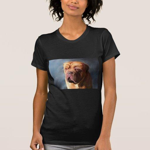 Stormy Dogue - Dogue de Bordeaux Art T-shirts