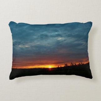 Stormy Dramatic Dawn Decorative Pillow