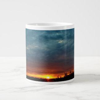 Stormy Dramatic Dawn Large Coffee Mug