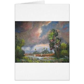 Stormy Florida Backwoods Card