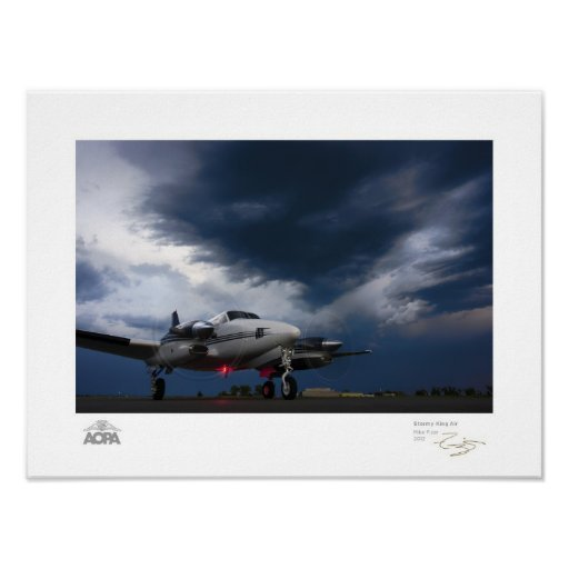 Stormy King Air Gallery Poster