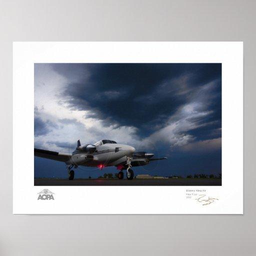 Stormy King Air Gallery Print