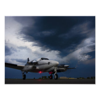 Stormy King Air Poster
