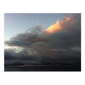 Stormy Laguna Beach Sunrise Postcard