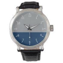 Stormy Lake Wrist Watch