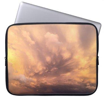 Beach Themed stormy laptop sleeve