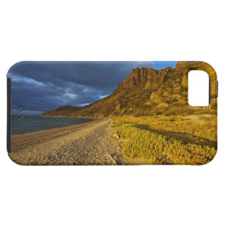Stormy light on Isla Carmen in the Gulf of iPhone 5 Cover