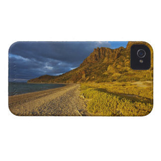 Stormy light on Isla Carmen in the Gulf of iPhone 4 Cover