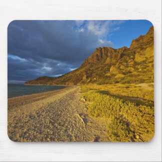 Stormy light on Isla Carmen in the Gulf of Mouse Pad