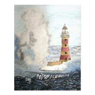 Stormy Lighthouse Custom Flyer