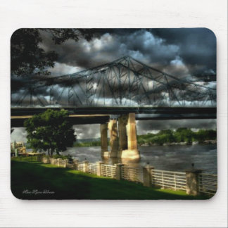 Stormy Moments at Riverside Park Lacrosse Wisconsi Mouse Pads