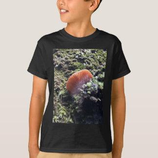 Stormy Mycelia Burst Mushroom T-Shirt