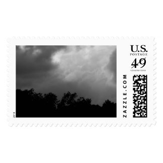Stormy Night Stamp