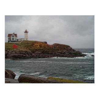 Stormy Nubble Postcard