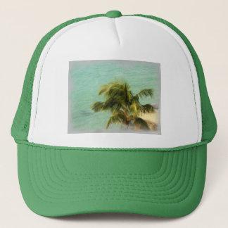 Stormy Palms Trucker Hat