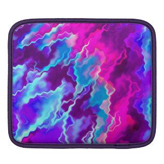 Stormy Pink Purple Teal iPad Sleeves