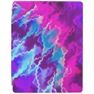 Stormy Pink Purple Teal iPad Smart Cover