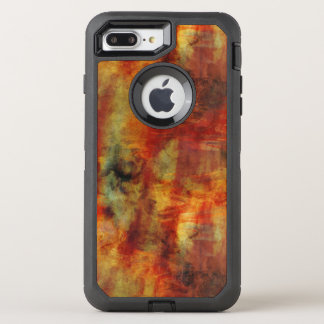 Stormy Reds and Yellows Abstract OtterBox Defender iPhone 7 Plus Case