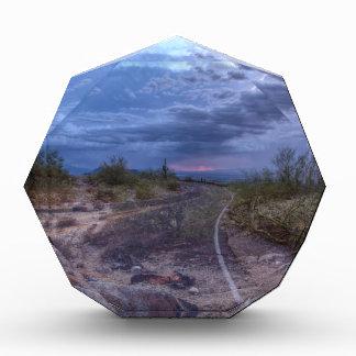 Stormy Road Acrylic Award