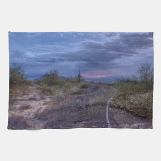Stormy Road Hand Towel