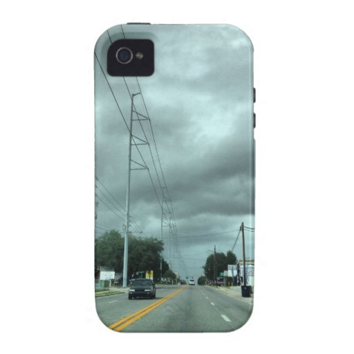 Stormy Road iPhone 4 Covers