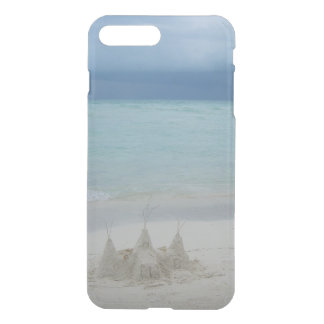 Stormy Sandcastle Beach Landscape iPhone 7 Plus Case
